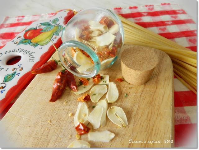 come fare aglio olio e peperoncino