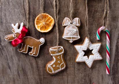 arance essiccate per decorazioni di Natale