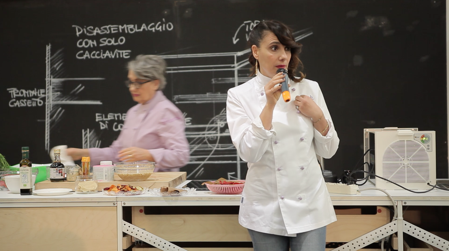 paola showcooking