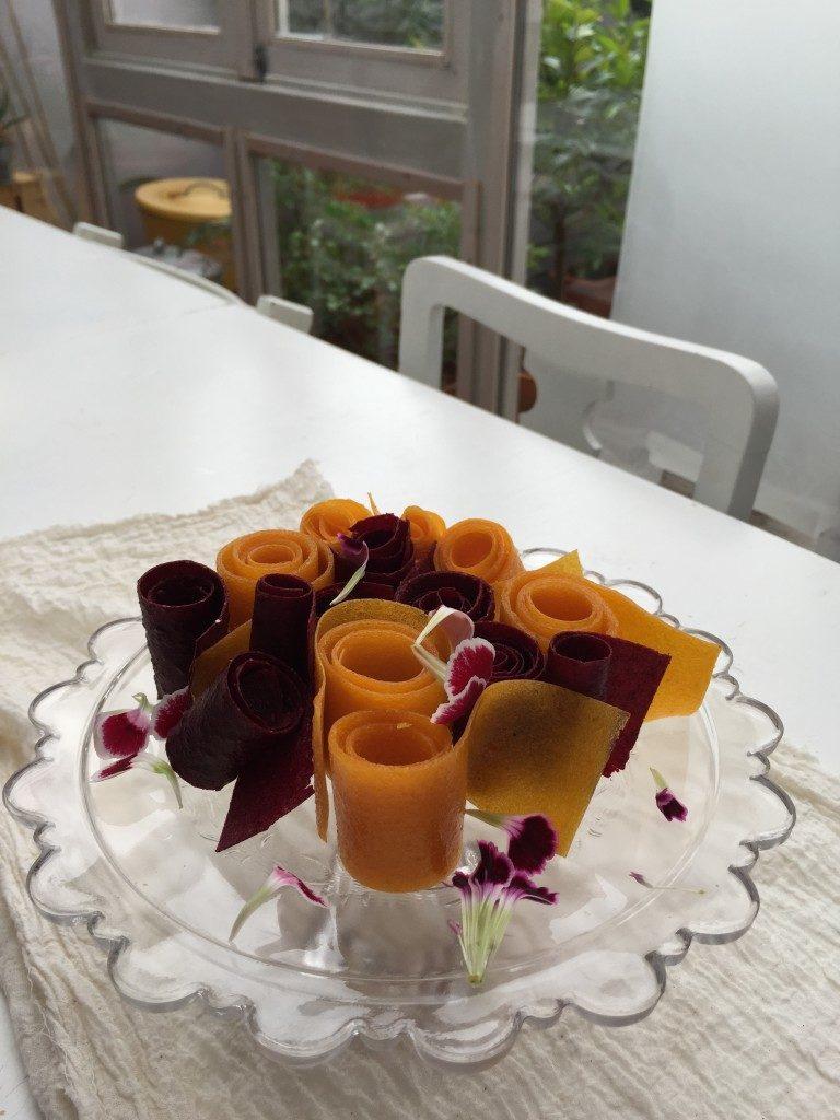 caramelle frutta vegan