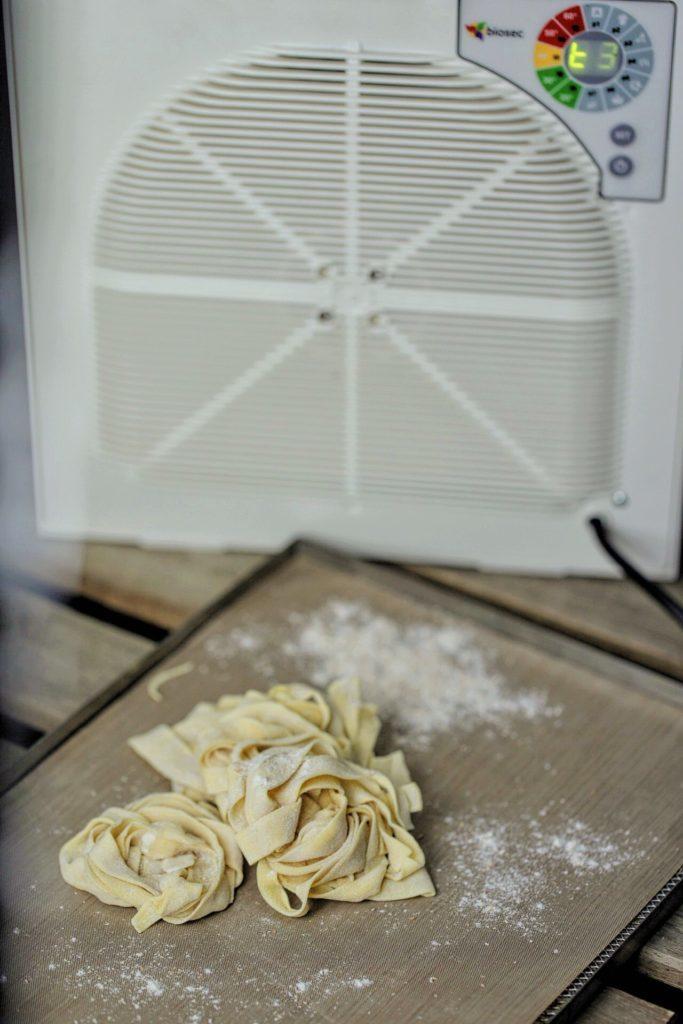 come seccare la pasta fresca