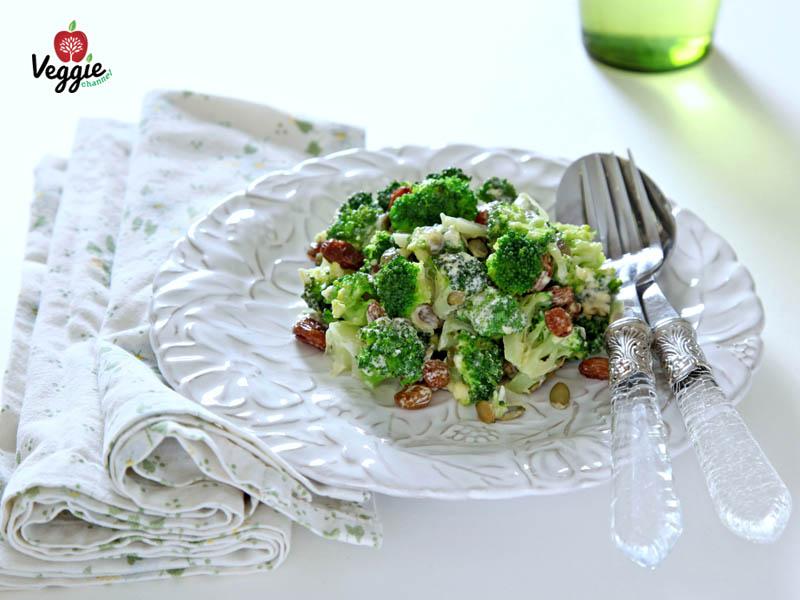 broccoli marinati con l'essiccatore