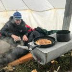 pasti in tenda