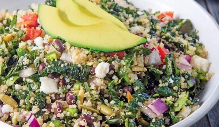 insalata di quinoa essiccata