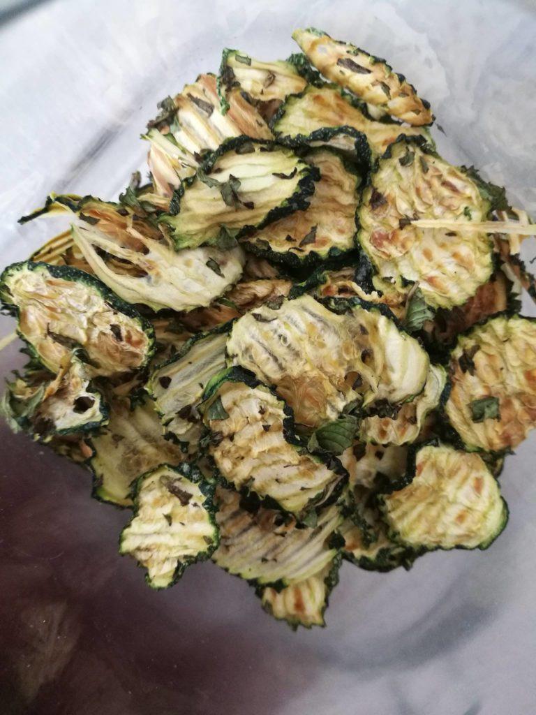 chips zucchine melissa menta