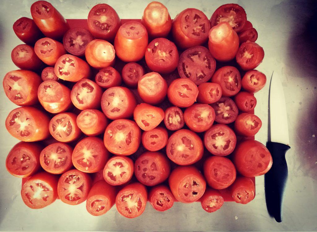 chips di pomodori essiccati