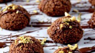 maccheroncini essiccati cacao e cocco