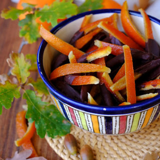 arance candite ed essiccate