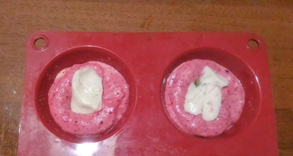 muffin con farine essiccate