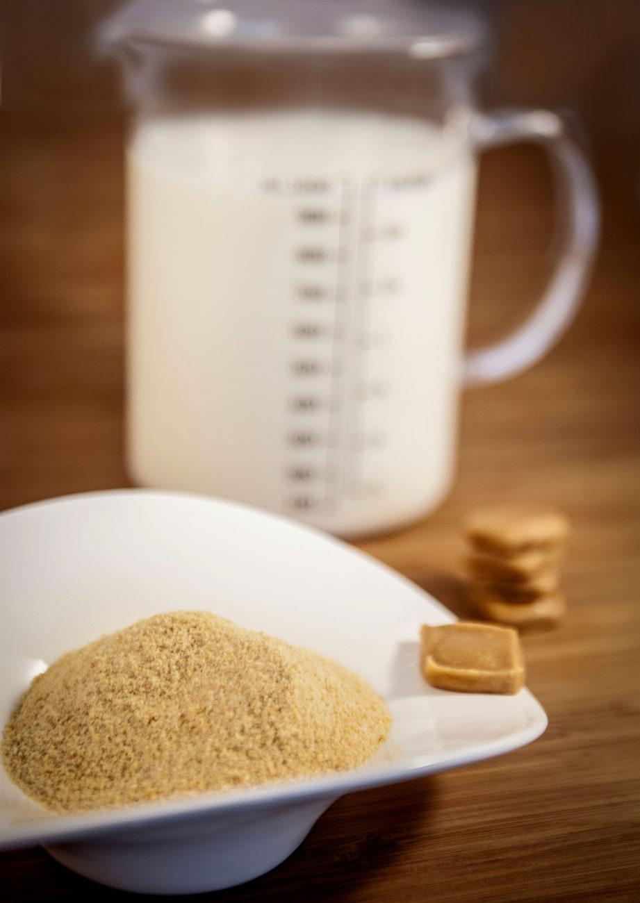 latte in polvere con Biosec