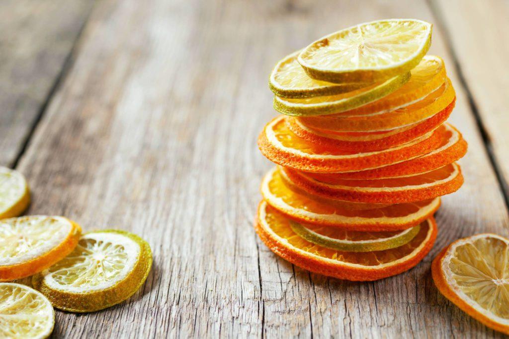 arance fetta essiccate