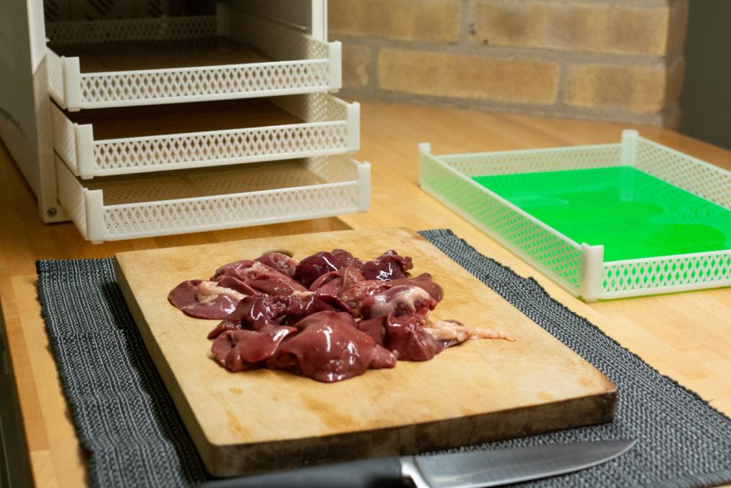 insaporitore essiccato per cibo animali
