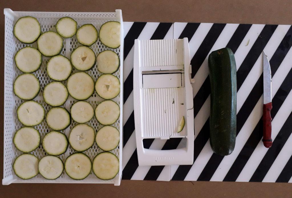 zucchine giganti essiccate