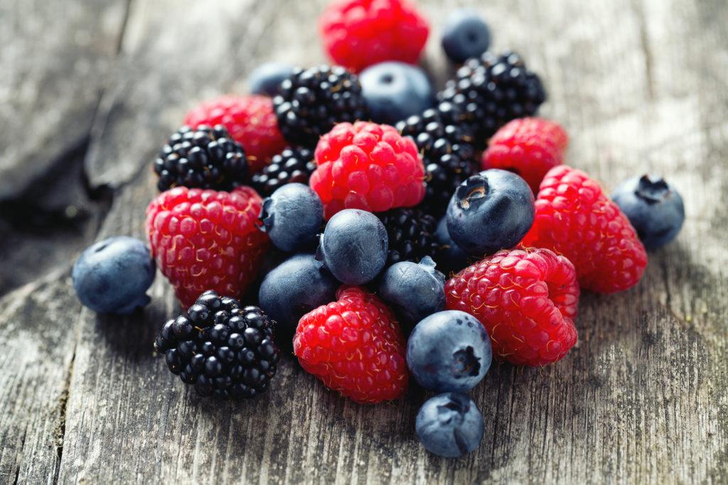 frutti di bosco da seccare