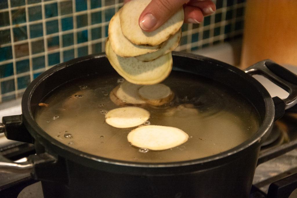 patate americane essiccate