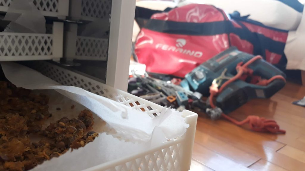 trail food essiccato