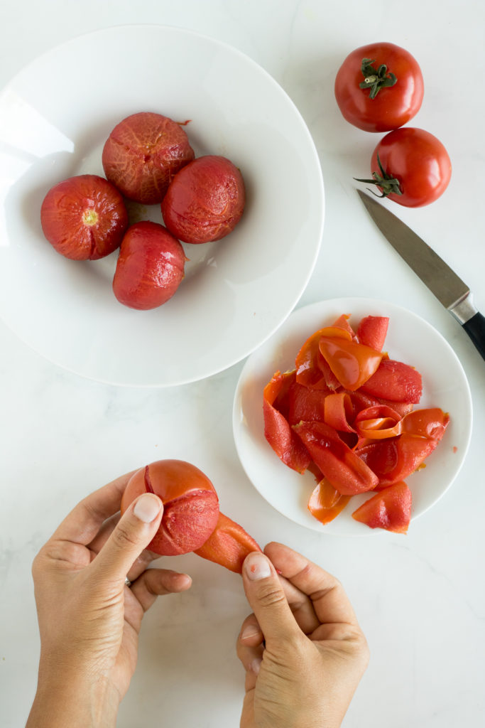 polvere bucce pomodoro