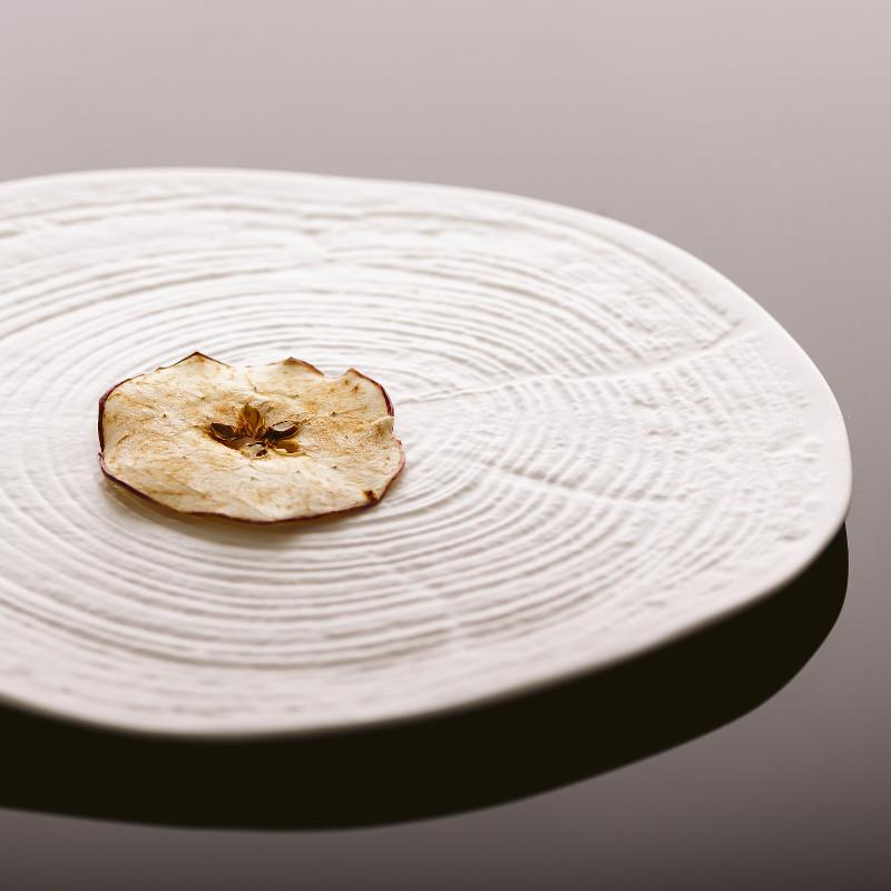 Chips di mela essiccata