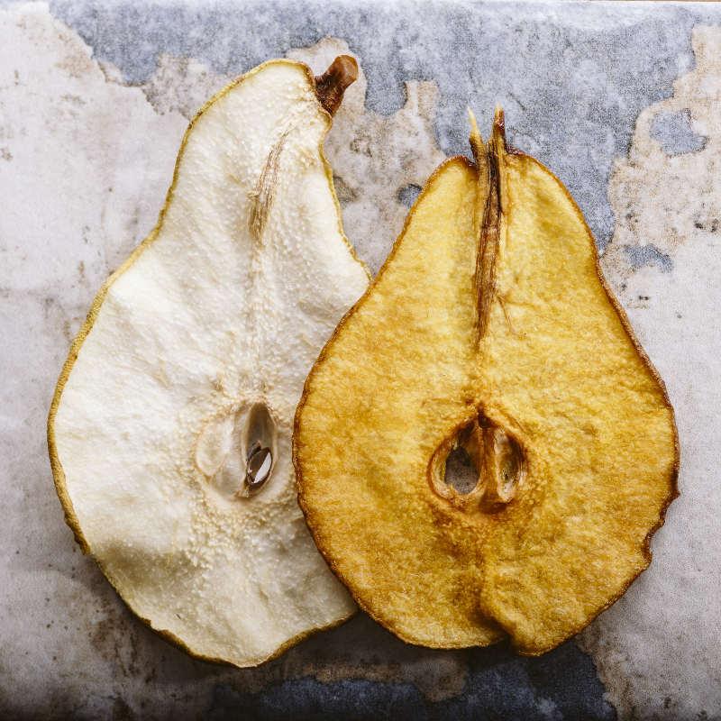 Chips di pere allo Strega