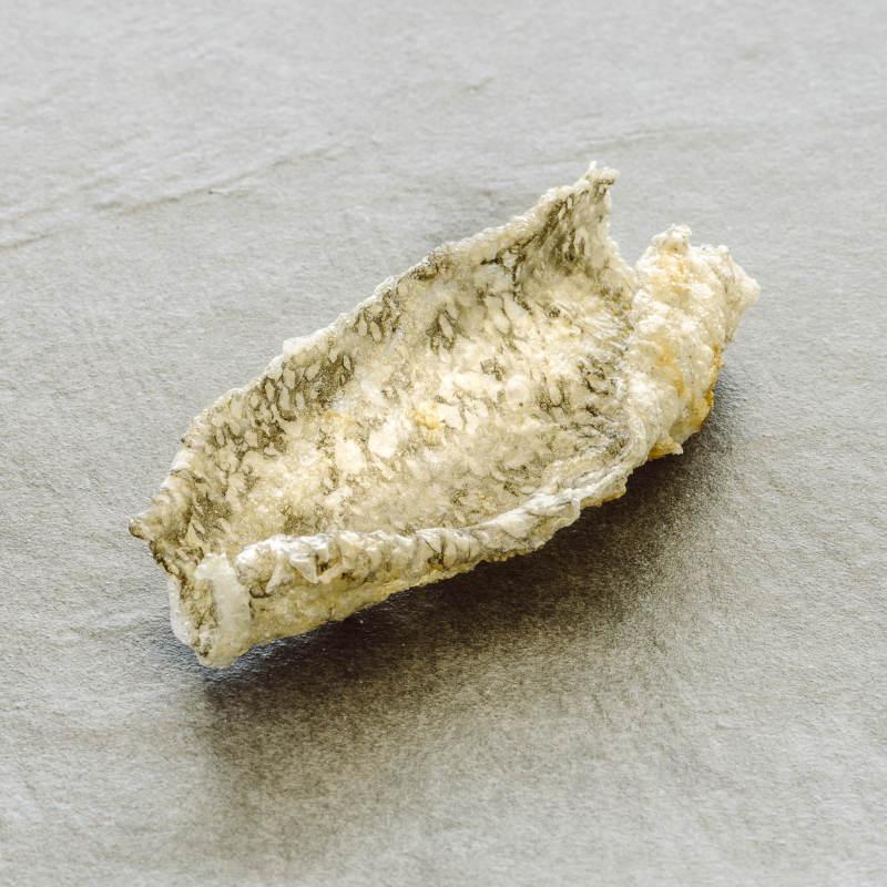 Pelle del baccalà soffiata